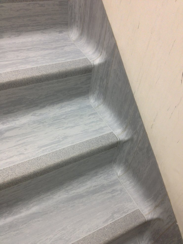 Bpl Clean Room Staircase Laid About 5 Years Ago The